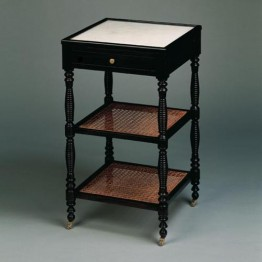 Vaughan French Cane Etagere FT0049.BK