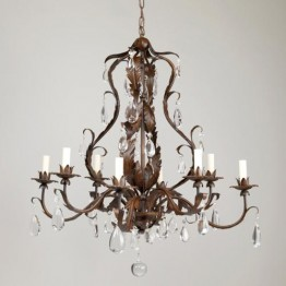 Vaughan Chambord Rust Chandelier CL0110.RU