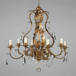 Vaughan Chambord Gilt Chandelier CL0110.GI
