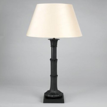 Vaughan Lotus Leaf Column Table Lamp TM0032.BZ