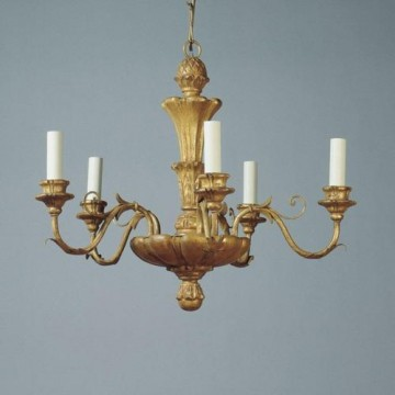 Vaughan Giltwood Rococo Chandelier CL0082.GI.SE