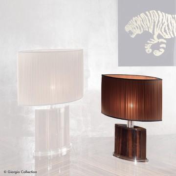 Giorgio Collection Ebony small lamp