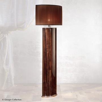 Giorgio Collection Ebony floor lamp