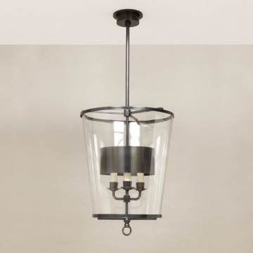 Vaughan Fixed Zurich Lantern with Shade CL0294.BZ