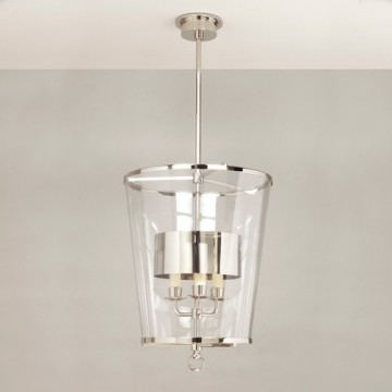Vaughan Zurich Lantern with Shade, Fixed Rod CL0294.NI