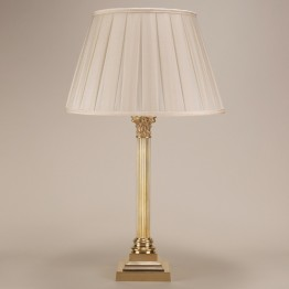 Vaughan Tall Corinthian Column Table Lamp TM0009.BR