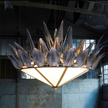 Charles Paris Aloes Chandelier 7305-0