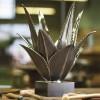Charles Paris Aloes Table Lamp 2375-0 (Dark nickel)