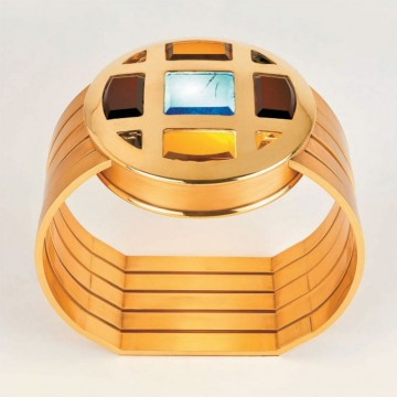 Charles Paris Lisagrey Table Lamp 2100-WA (Gold)