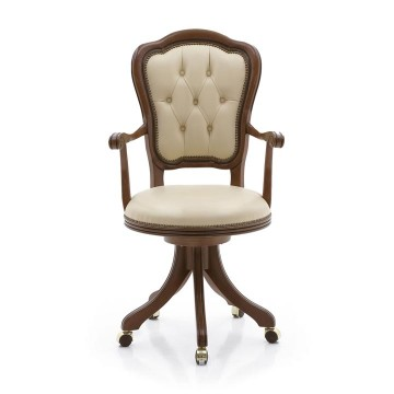Seven Sedie Swivel chair Flavia