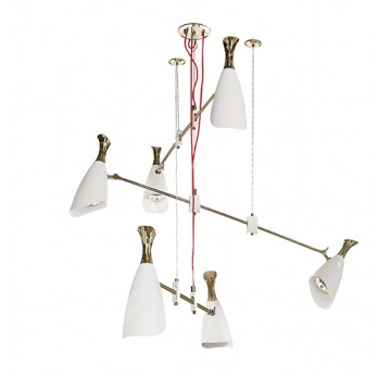 Delightfull Duke Contemporary Suspension Lamp