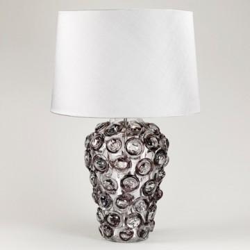 Vaughan Zermatt Glass Lamp TG0059.GY