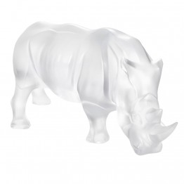 Lalique Clear Rhinoceros