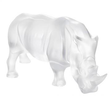 Lalique Clear Rhinoceros