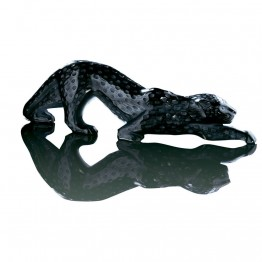 Lalique Black Large Zeila Panther