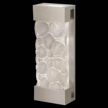 Fine Art Lamps Sconce 810950-24ST Silver