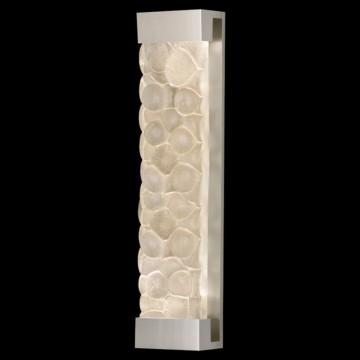Fine Art Lamps Sconce 811150-24ST Silver