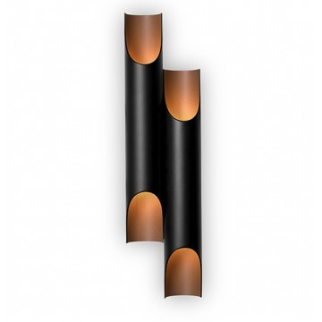Delightfull Galliano Retro Tube Wall Lamp