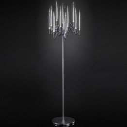 Il Pezzo Mancante Floor lamp (black nickel plated brass)