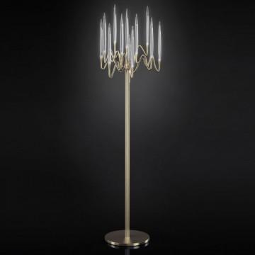 Il Pezzo Mancante / Floor lamp (natural brass)