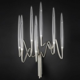 Il Pezzo Mancante / Sconce (nickel plated brass)