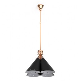 Delightfull Madeleine Industrial Suspension Lamp