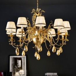 Masiero Belle Epoke 10 Light Chandelier