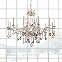 Masiero Lizzi 8 Light Chandelier