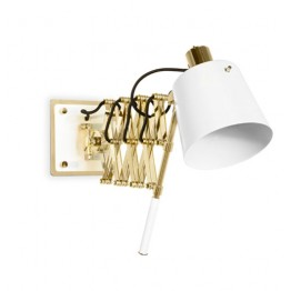 Delightfull Pastorius Vintage Extendable Wall Lamp