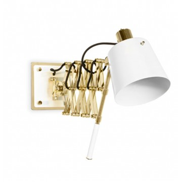 Delightfull Pastorius Vintage Extendable Wall Lamp