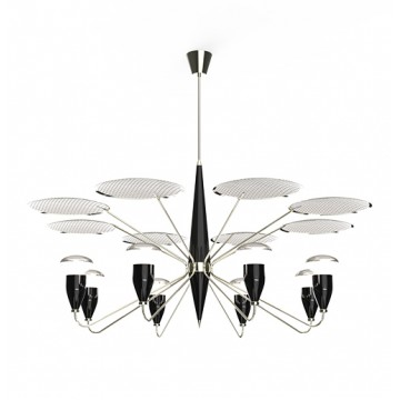 Delightfull Peggy Retro Suspension Lamp