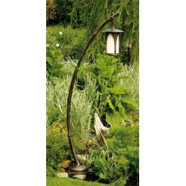 Robers Japanese Wrought Iron Garden Light AL 6643