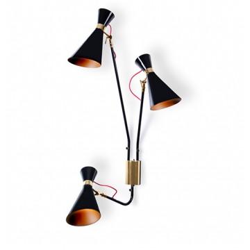 Delightfull Simone Mid Century Modern Wall Lamp