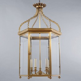 Vaughan Regency Hall Lantern CL0032.BR.SE