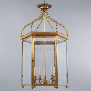 Vaughan Regency Hall Lantern CL0032.BR.SE