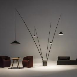 Vibia Floor LED lamp North 5600