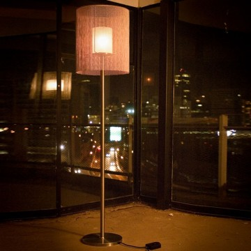 Willowlamp Floor Lamp CIR-CRO-400(LRG)-STA