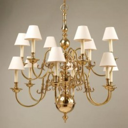 Vaughan Dutch Chandelier 12 Light CL0302.BR