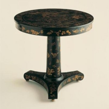 Vaughan Lacquer Pedestal Table FT0007.LA